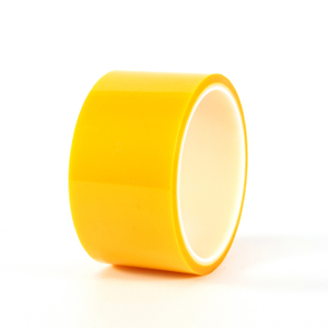 Yellow PET Silicone Tape
