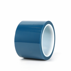 Blue PET Silicone Tape
